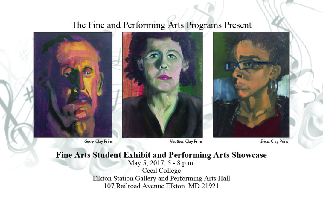 Fine Arts Student Exhibit and Performing Arts Showcase, May 5, 2017